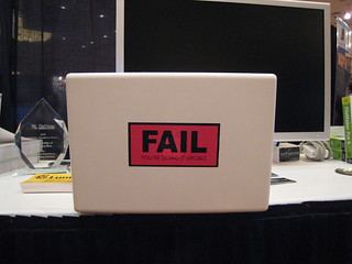 fail: you're doing it wrong | by Hjem