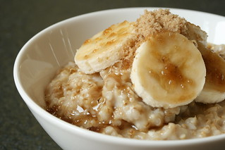Oatmeal with Bananas and Brown Sugar | by Sunday Nite Dinner