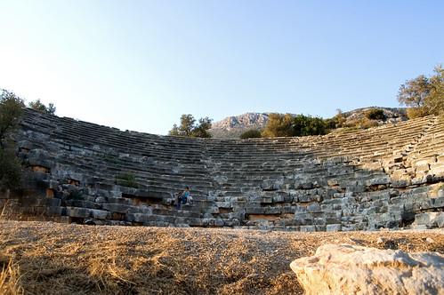 Antiphellos Antique Theatre  Small Hellenistic ...