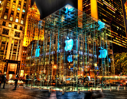 Apple Store in big apple | by Tony Shi Photos