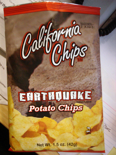 Earthquake Chips | by Fuzzy Gerdes