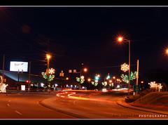 Christmas Street Lights... Pigeon Forge, Tennessee!
