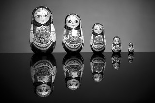 Russian Nesting Dolls -Matryoshkas | by Odalaigh