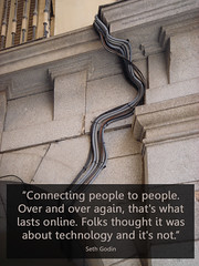 connecting people | by Will Lion