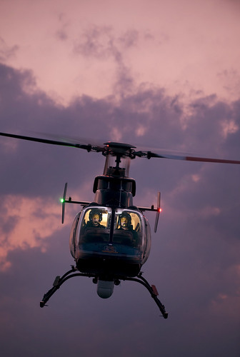 Bell 407 Police Chopper | by strobist