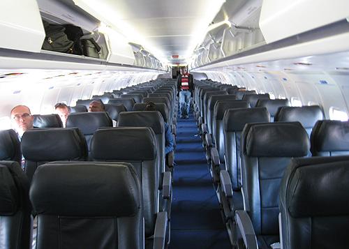 a l 39 int rieur d 39 un avion de la compagnie caa cedric kalonji flickr. Black Bedroom Furniture Sets. Home Design Ideas