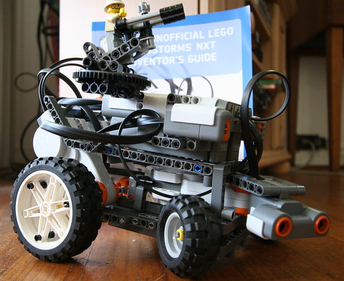 "LEGO Mindstorms ""TagBot"" - 365 Toy Project 