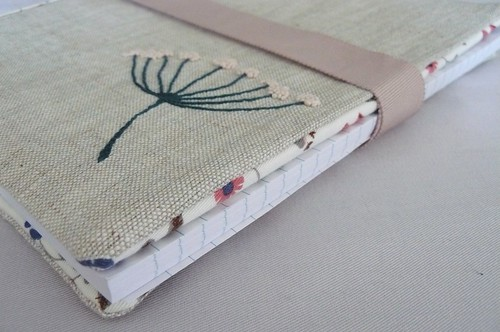 Embroidered Notebook Cover | by edwardandlilly