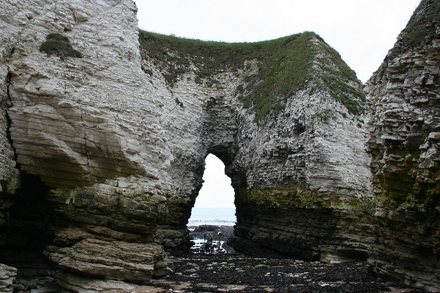 Selwick Bay - Molk Hole Arch - Looking out to sea