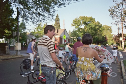 kidical mass southeast portland, august, 2008 | by cafemama