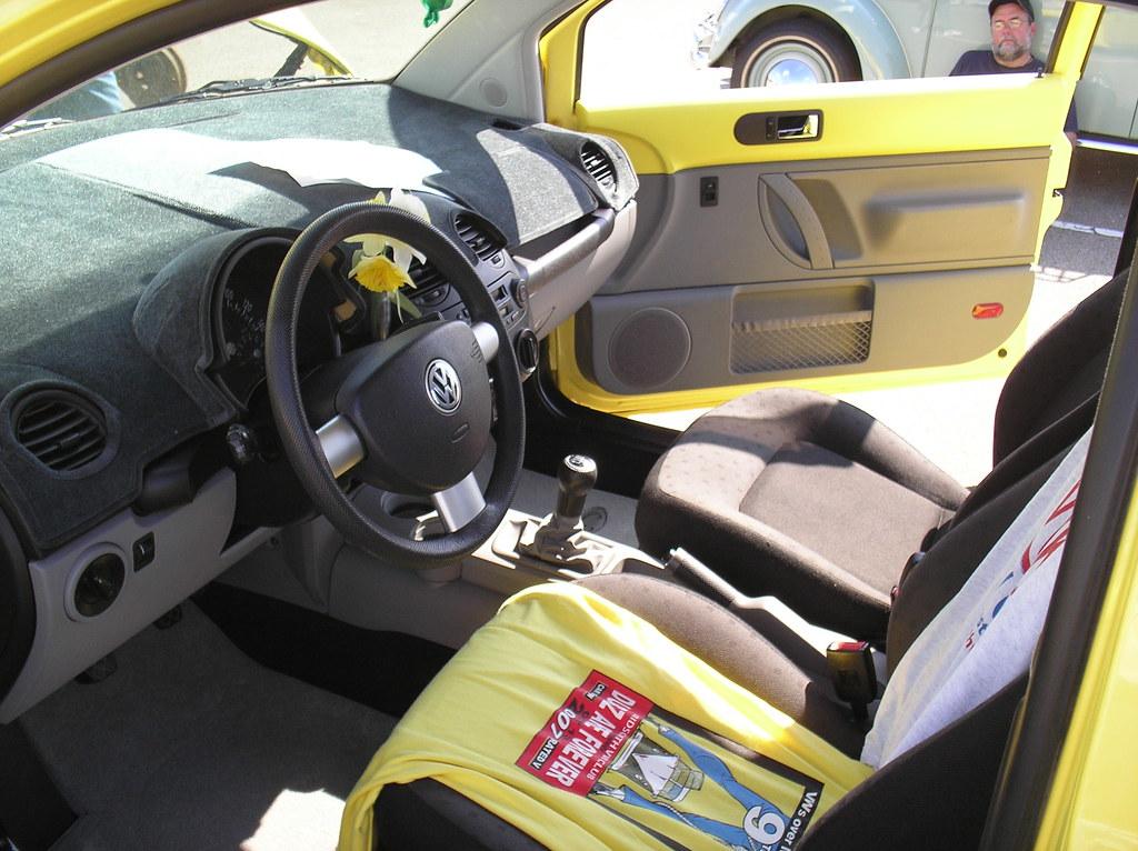 Volk Wagon Volkswagen New Beetle Interior