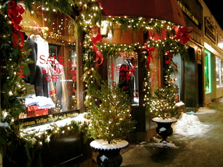 Store Front at Christmas | by brenna d