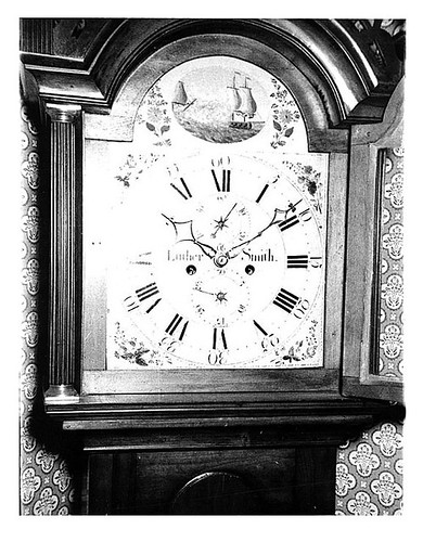 Luther Smith clock made in Keene NH | by Keene and Cheshire County (NH) Historical Photos
