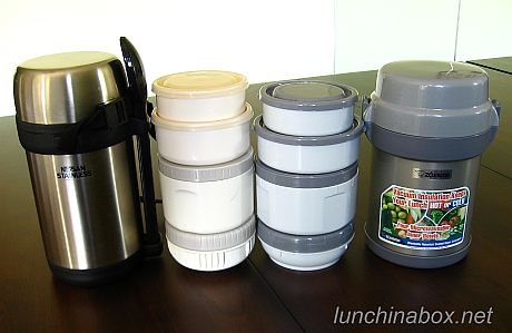 Lunch jar battle: Nissan Stainless vs. Mr. Bento | by Biggie*