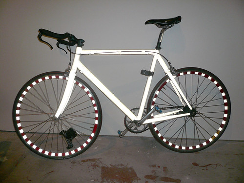 Bright Bike (with flash)  STOLEN! | by mandiberg