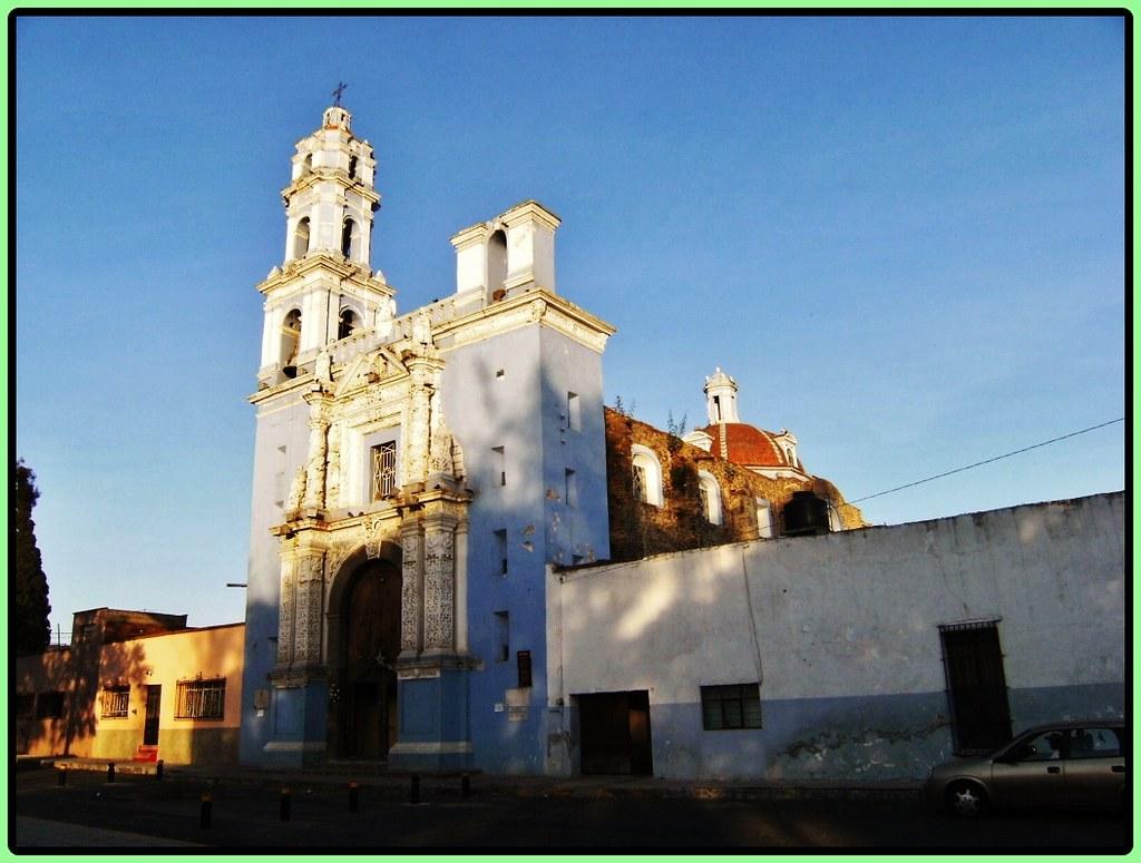 Vista exterior de la iglesia de Los Remedios