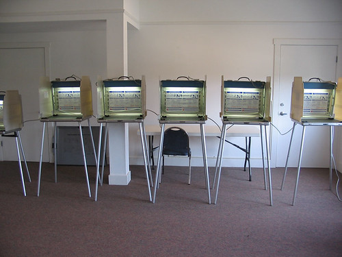 Six voting machines for this election! | by momboleum