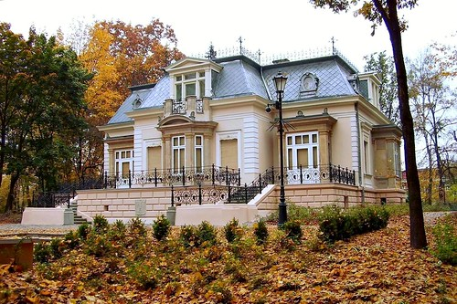 the villa (small palace) in the park | by green_lover