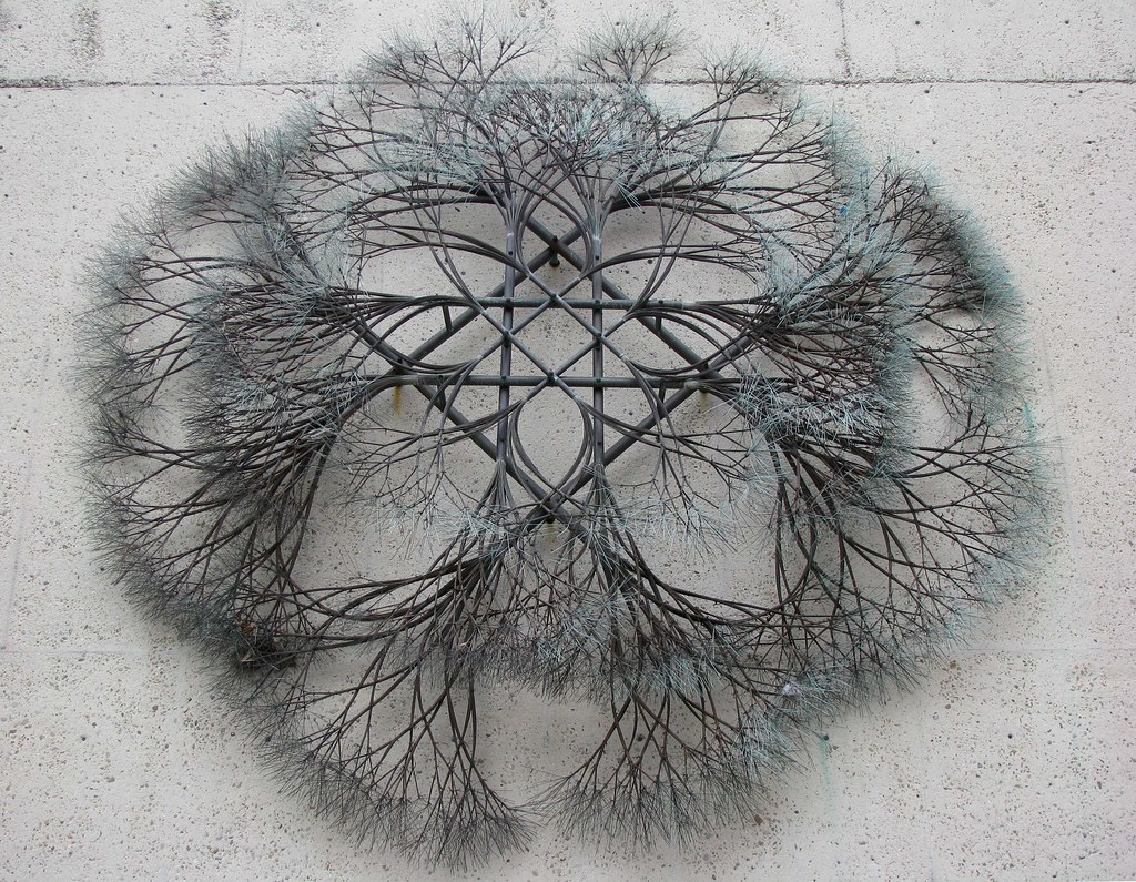 Ruth Asawa | Untitled, 1974. Bronze and copper wire (1926-20… | Flickr