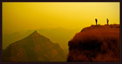 One sees great things from the valley, only small things from the peak - G. K. Chesterton | by flickrohit