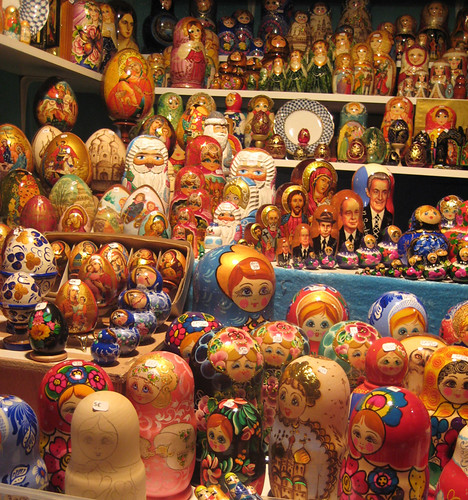 Russian Dolls - Champs-Élysées Christmas Market Paris | by Annie Mole