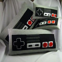 Controller pillows | by Estelle de Paris
