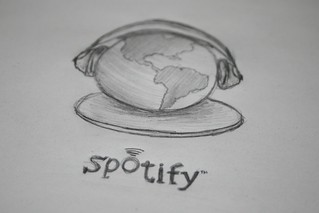 Spotify concept icon | by DDrDark