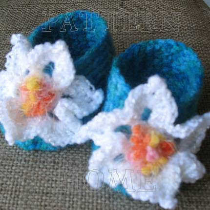 Pdf Easy Crochet Pattern Baby Booties These Baby Booties A Flickr