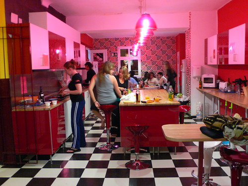 Kitchen at Home backpacker's hostel | by heatheronhertravels