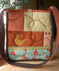 SpringTime bag 3 - back | by PatchworkPottery