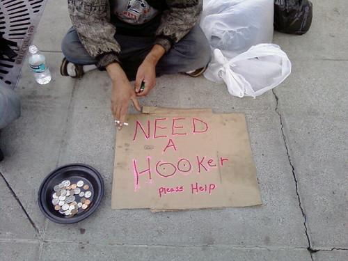 Need a hooker