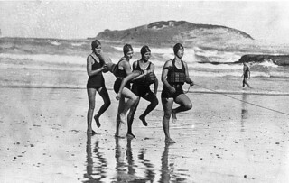 Women's team, Coffs Harbour Jetty Surf Life Saving Club | by State Library of New South Wales collection