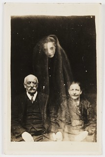 Elderly couple with a young female spirit | by National Science and Media Museum