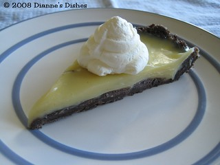 You Want Pies With That?: Gone With the Wind Pie: White Chocolate and Spearmint with a Chocolate Crust | by Dianne's Dishes