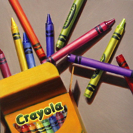 Crayola Crayons | by nance danforth painting studio