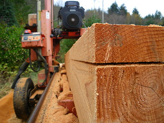 milling cedar | by red alder ranch