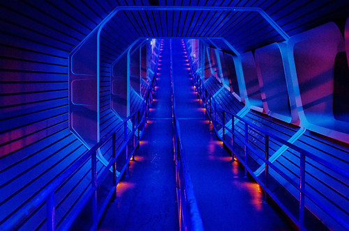 Disney - Space Mountain Star Tunnel | by Express Monorail