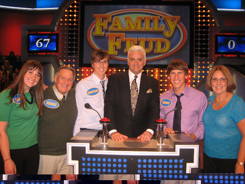 My Mom just fwd'ed me this long-lost Family Feud photo (Hello Crowley Family Christmas card!)  ps:  official air date is Wednesday March 4, 2009.  Put it in yer iCal! | by dpstyles™