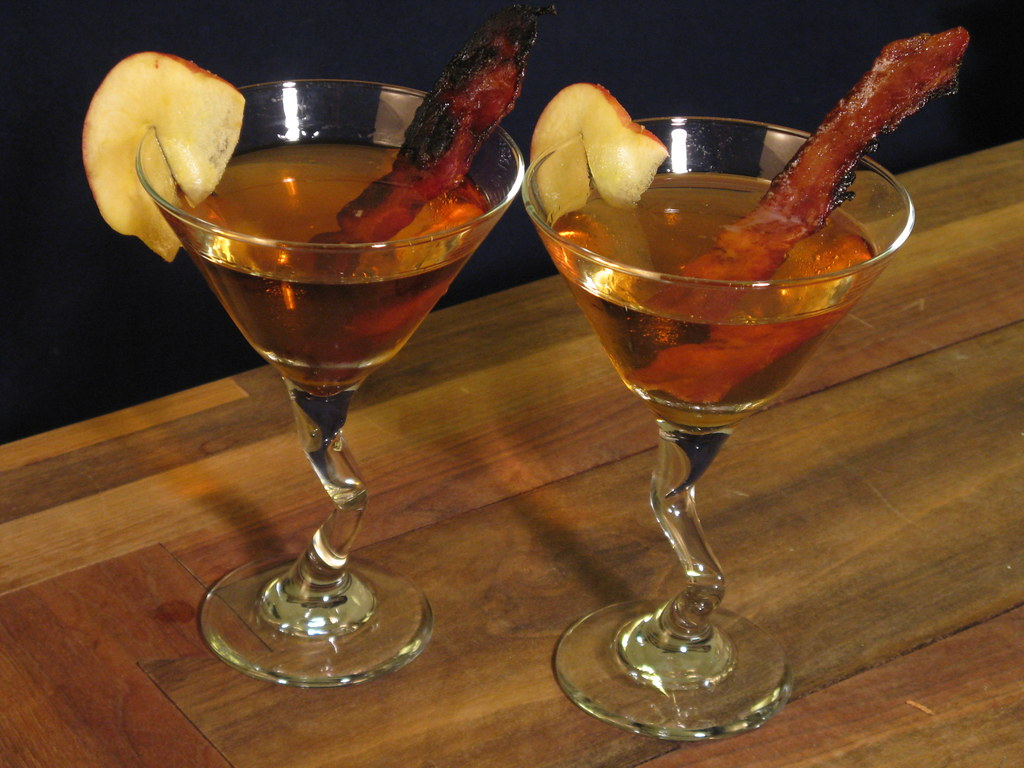 candied bacon martini coat bacon with brown sugar and fry flickr