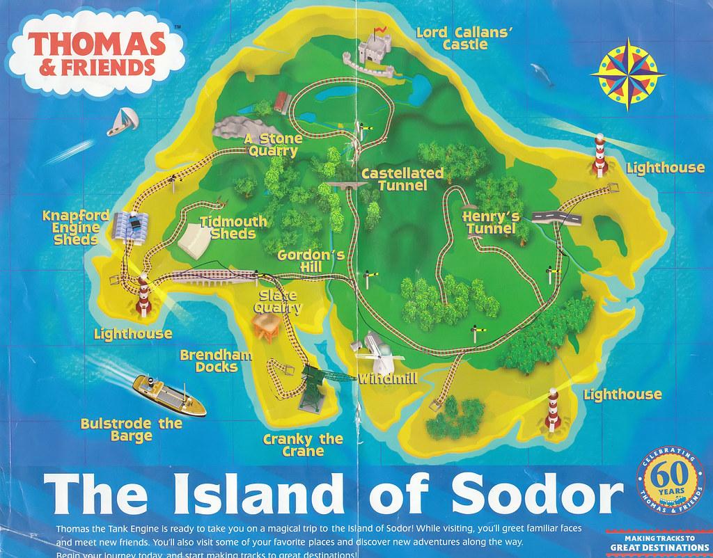 Island Of Sodor Map Island of Sodor Map | For Samuel. | BenedictSim | Flickr Island Of Sodor Map