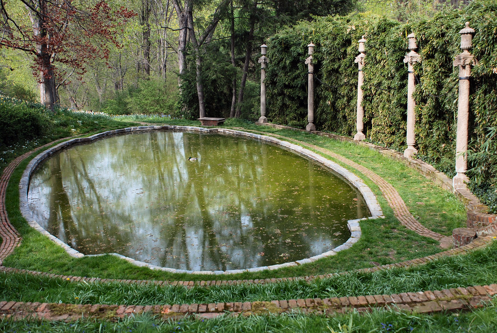 Dumbarton Oaks Gardens - Lovers\' Lane Pool - 4-19-08   Flickr