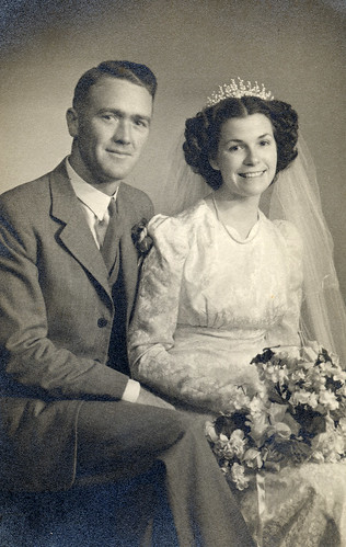 Stunning bride in 1941 | by lovedaylemon