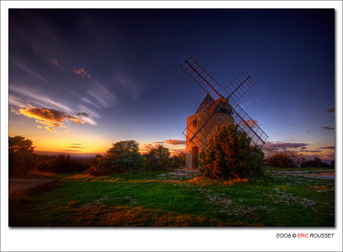 Windmill of St Julien le Montagnier #2 (France) | by Eric Rousset