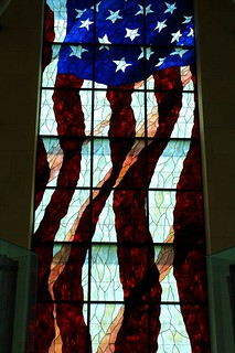 Stain Glass Window - Robert J Dole Institute of Politics | by frank thompson photos