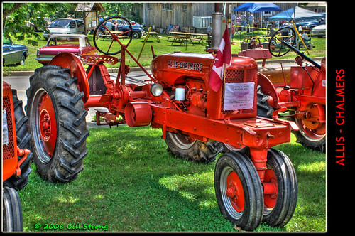 1940s Tractor Repair Signs : Allis chalmers rc tractor the sign