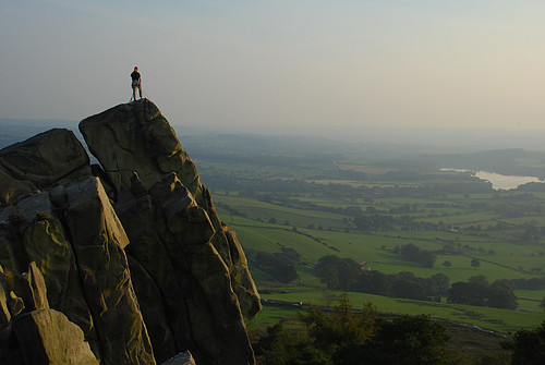Climber on The Roaches | by CountyPix