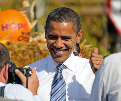 Final pre-election visit by Barack Obama to Iowa. | by IowaPolitics.com
