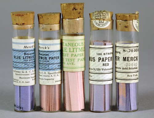Litmus paper, 1934, Merck Corporation | by Chemical Heritage Foundation