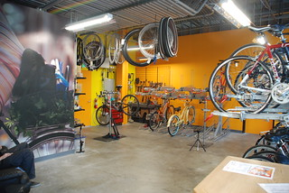 LB Bike Station Repair Shop Interior | by ExperienceLA