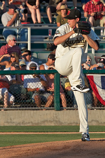 Tyler Skaggs (Visalia) Cal League starting pitcher | by Tom Clifton